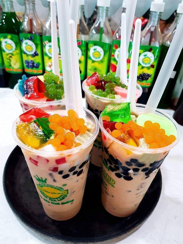 Top 10 Quán trà sữa topping handmade được yêu thích nhất tại Sài Gòn