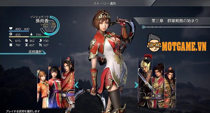 Siêu phẩm chặt chém đầy kịch tính trên Mobile của Dynasty Warriors 8