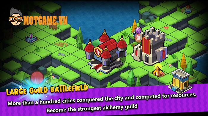 Alchemy War 2: The Rising – Game chiến thuật cho người chơi vào vai Quỷ Vương