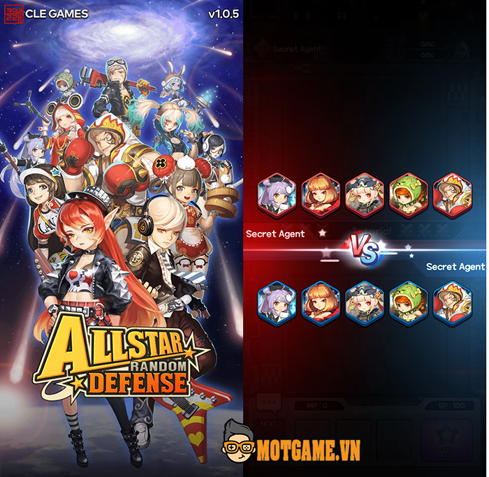 Allstar Random Defense: Game thủ tháp mới toanh với tạo hình nhân vật chibi đáng yêu