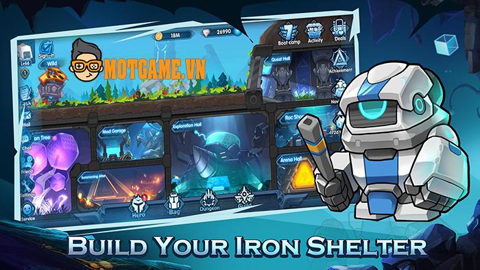 Automech Sanctuary gây bất ngờ với thể loại Idle Game theo phong cách Cyberpunk