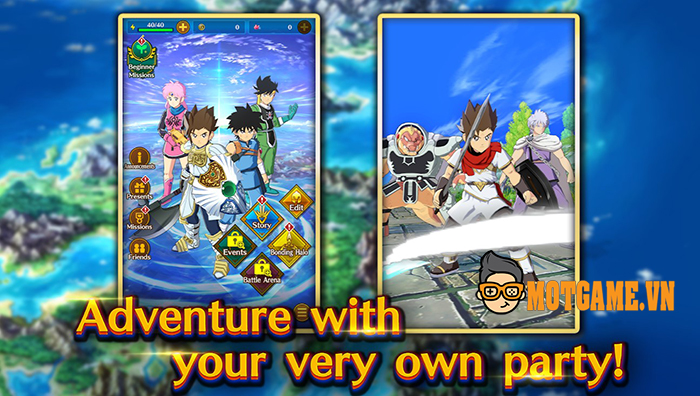 Game khủng DRAGON QUEST The Adventure of Dai: A Hero's Bonds ra mắt