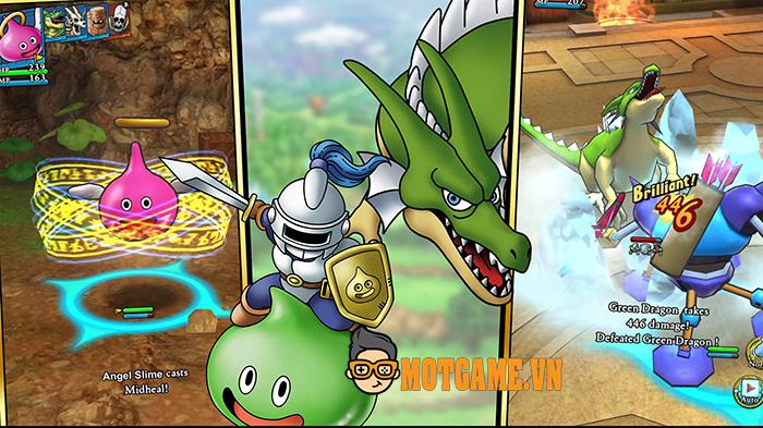 Dragon Quest Tact có lối chơi chiến thuật hiện đại, chuẩn IP của series game huyền thoại
