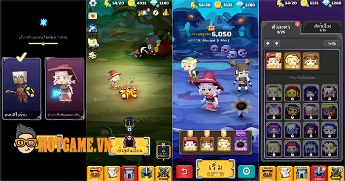 Dunstop – Game nhập vai chiến thuật vượt cạm bẫy mới toanh từ Hàn Quốc
