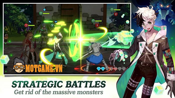 Eroica tựa game di động đánh theo lượt mang phong cách anime vừa mới ra lò