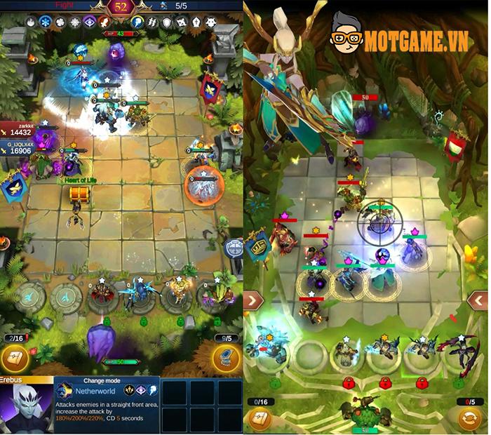 Gods Duel – Game chiến thuật kẻ ô với lối chơi đơn giản nhưng có tính gây nghiện cao