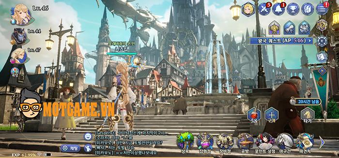 """Gran Saga Online: Game mang danh """"Genshin Impact của người Hàn"""" ấn định thời điểm ra mắt"""