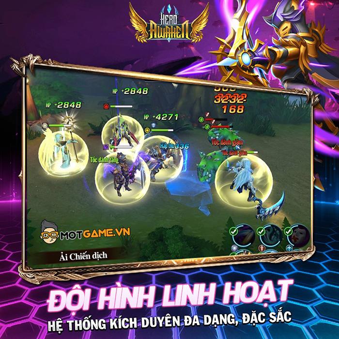 Game nhập vai chất hàn Hero Awaken – Anh Hùng Thức Tỉnh về Việt Nam