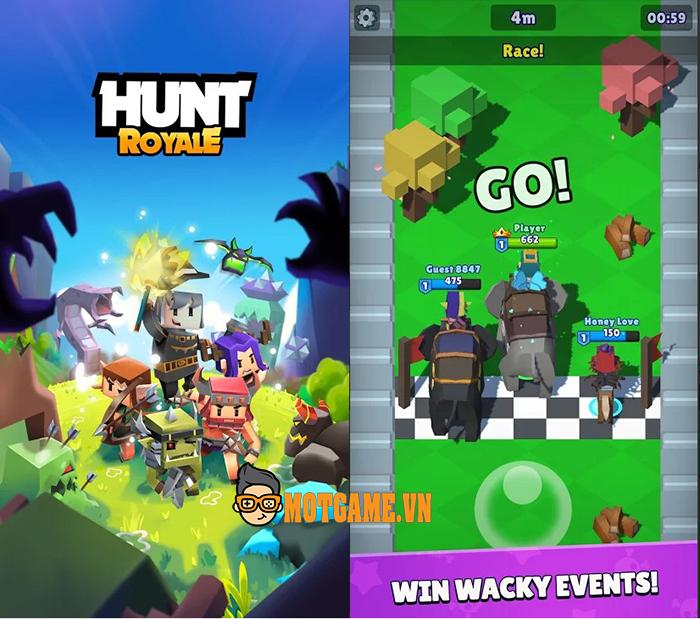 Đua nhau săn quái vật trong game mobile Hunt Royale