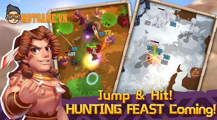 Hunter Legend: Rise of Clans phiêu lưu thế giới nguyên thủy cùng tarzan