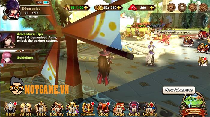 Knight of Wind – Game nhập vai hành động 3D đẹp mắt và gay cấn