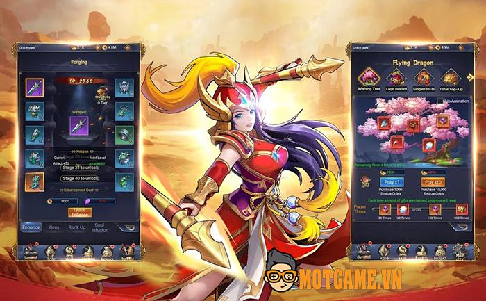 Tải ngay Knights of Valour H5 – Tam Quốc Chiến Kỷ phiên bản Idle RPG trên mobile