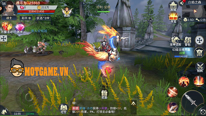 Game nhập vai chất phương Tây Land of Doran Việt Nam sắp sửa ra mắt