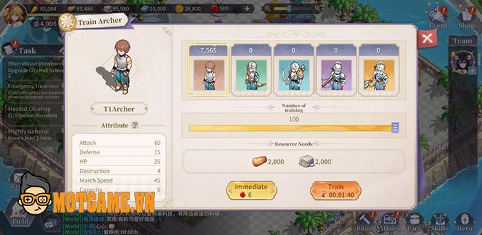 Lord of Other World – Game chiến thuật cho phép người chơi tự do kiến thiết thành phố của riêng mình