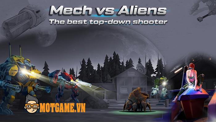 Mech vs Aliens gợi nhớ lại hiện tượng game bắn súng diệt người ngoài hành tinh khi xưa
