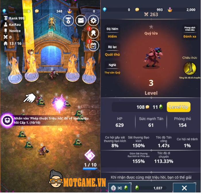 Merge Raid.io – Game nhập vai loạn chiến cho game thủ gọi hồn quái vật