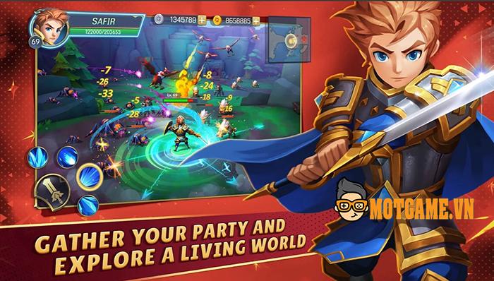 Tải ngay Oath of Glory tựa MMORPG đích thực sở hữu đồ họa vô cùng tươi sáng