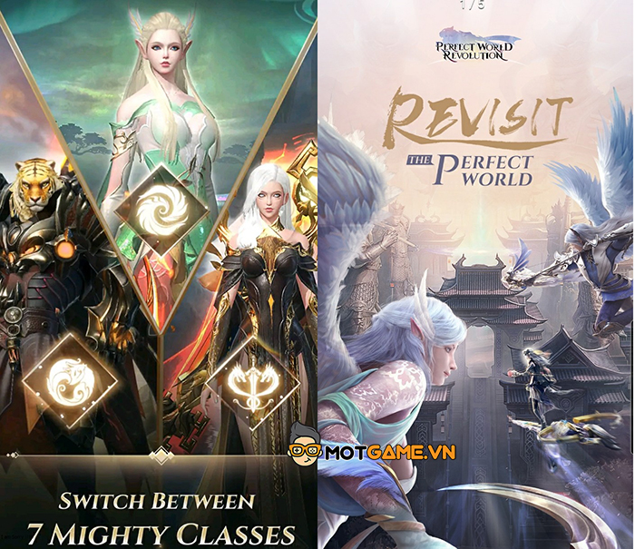 Perfect World: Revolution phá vỡ định kiện game nhập vai màn hình dọc thường rất xấu!