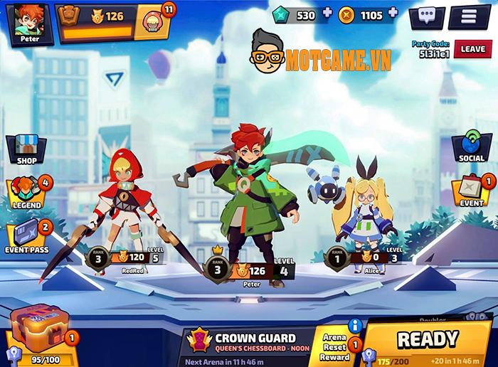 Tải ngay Smash Legends – Game hành động loạn chiến của ông lớn Line Games
