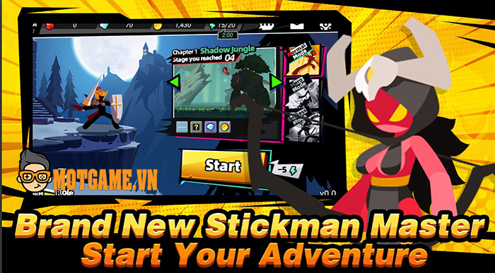 Stickman Master II: Dark Earldom tiếp nối câu chuyện về chàng hiệp sỹ người que