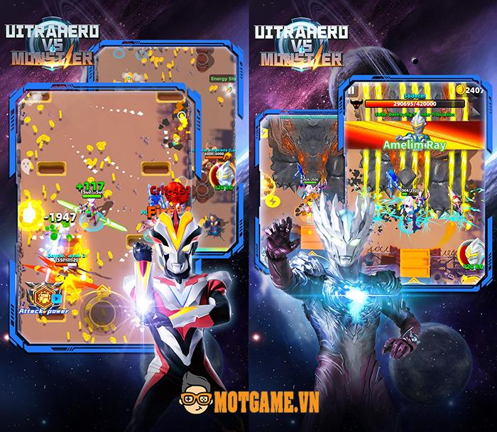 Ultrahero vs Monsters: Game bắn súng kịch tính với góc nhìn top down đầy mới lạ