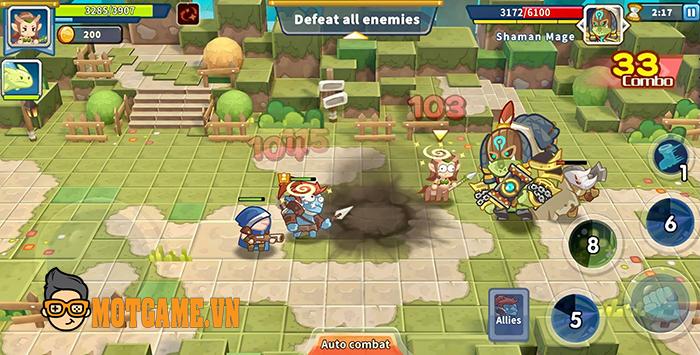 Game nhập vai hành động Watch Orc cho bạn dùng chiến thuật lấy ít địch nhiều!