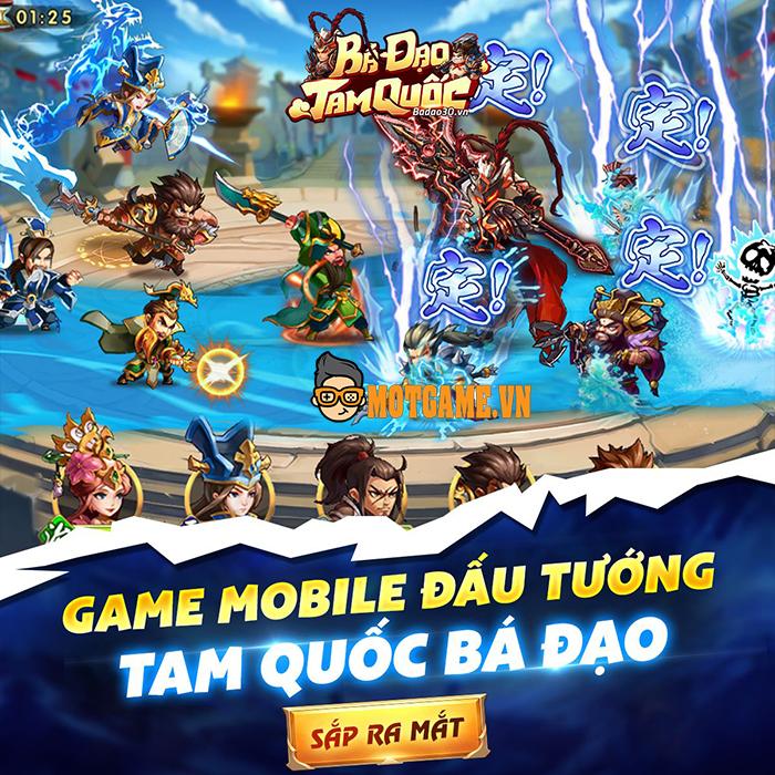 Game thẻ tướng Bá Đạo Tam Quốc Mobile trở lại thị trường Việt Nam