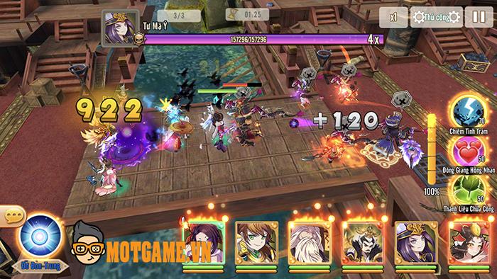 Bách Chiến 3Q cho người chơi thỏa sức combo skill trảm tướng đầy thích thú