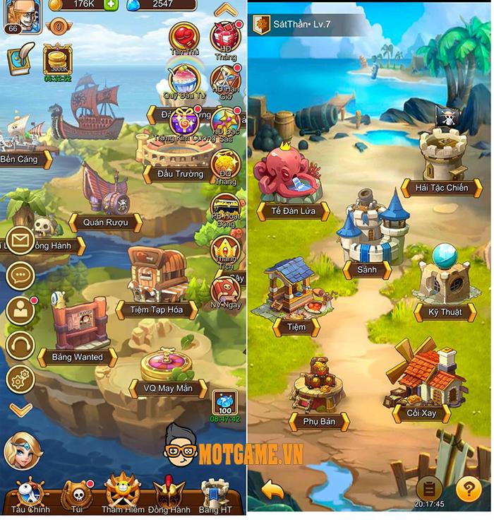 Đánh giá Đại Hải Trình Mobile: Game One Piece đấu tướng rảnh tay
