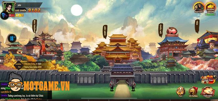 Cảm nhận Loạn Thế Tam Quốc Gamota – Game 3Q đấu tướng đồ họa chân thực
