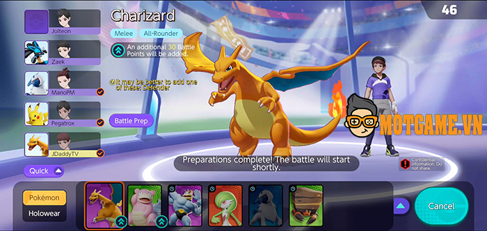 Cảm quan nhanh về lối chơi của Pokemon Unite – Game MOBA Pokémon chính chủ vừa ra mắt