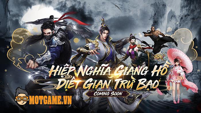 SohaGame tiếp tục nhá hàng dự án game mới Hiệp Nghĩa Giang Hồ Mobile
