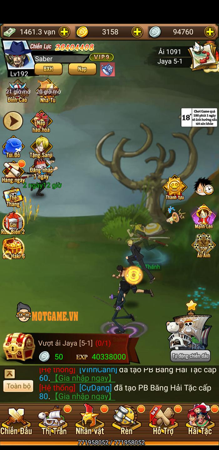 Cảm nhận Kho Báu Vô Tận Mobile: MMORPG chủ đề One Piece mang lối chơi kiểu rảnh tay