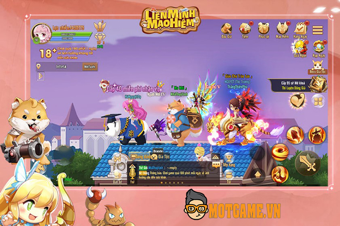 Game hành động màn hình ngang Liên Minh Mạo Hiểm Mobile sắp ra mắt tại Việt Nam