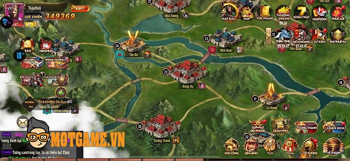 Loạn Thế Tam Quốc Gamota thử thách tài dụng binh của người chơi