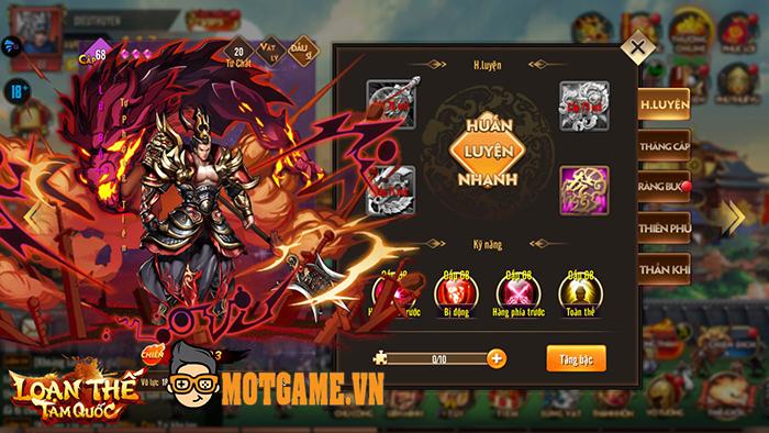 Game đấu tướng Loạn Thế Tam Quốc cho người chơi quay tướng, lên VIP hoàn toàn miễn phí