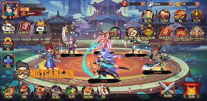 Game mới Ngạo Thế Tam Quốc Mobile sắp được NPH MIGA ra mắt tại Việt Nam