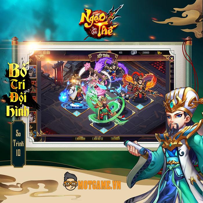Game thẻ tướng Ngạo Thế Tam Quốc Mobile công bố lộ trình ra mắt tại Việt Nam