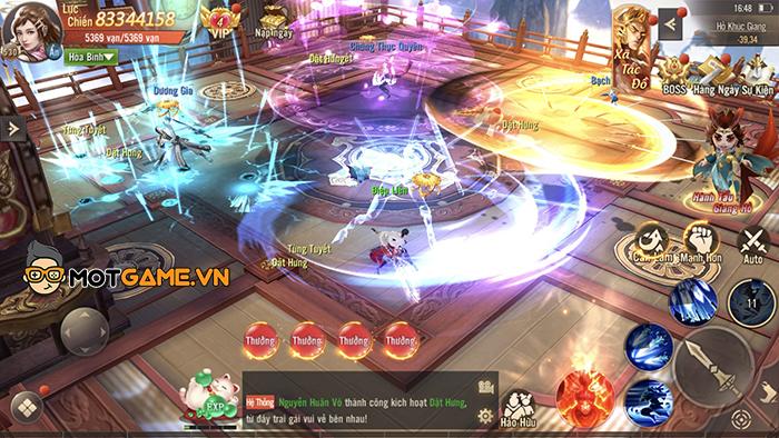 Nhiều cái hay ở dòng game Võ lâm, Kiếm hiệp nay được tái hiện lại trong game Phong Khởi Trường An