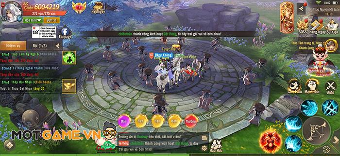 Phong Khởi Trường An Mobile không thiếu đất diễn cho những game thủ yêu thích PK tự do