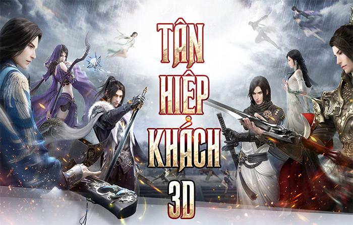 Game kiếm hiệp Tân Hiệp Khách 3D Mobile về Việt Nam