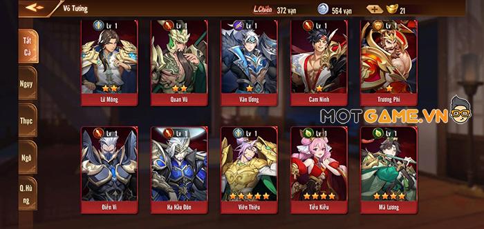 Bi hài chuyện quay Tướng dựng Đội trong game Tân OMG3Q VNG