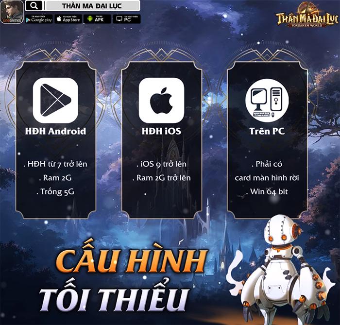 VNG Games chính thức ra mắt Forsaken World: Thần Ma Đại Lục tại Việt Nam