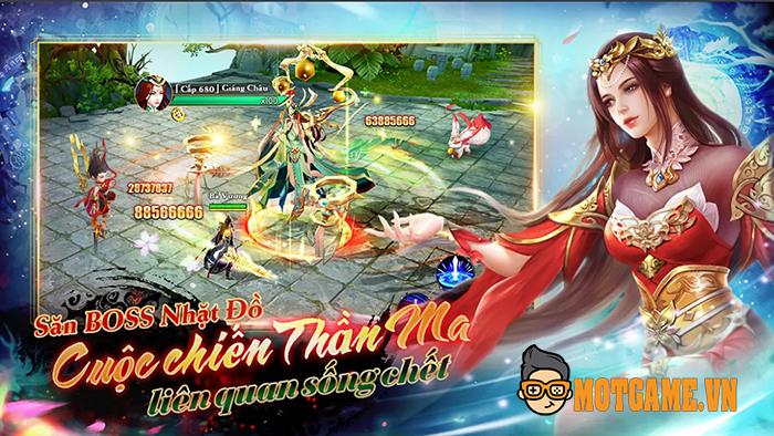 Game nhập vai Sky Fantasy: Thiên Kiếm Truyền Kỳ ra mắt game thủ Việt