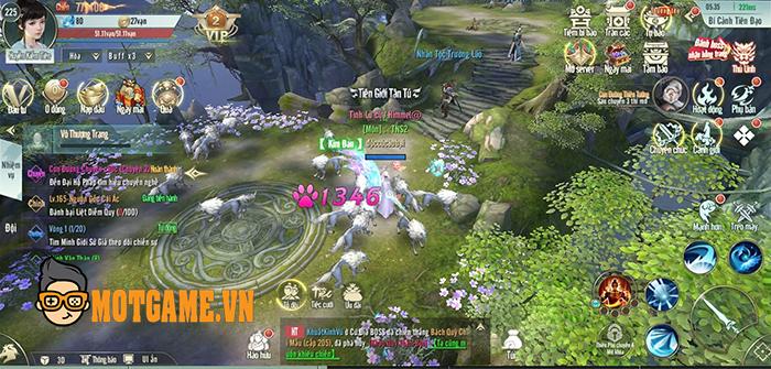 Trải nghiệm Nhất Kiếm Cửu Thiên: Tựa MMORPG cho bạn cày cuốc thả ga!