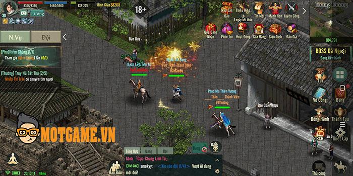 Trải nghiệm Võ Lâm Truyền Kỳ 1 Mobile: Đồ họa VLTK 1 gameplay VLTK Mobile