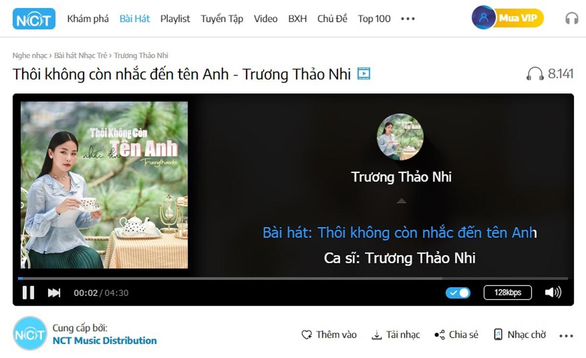 Trương Thảo Nhi bất ngờ trở lại Vpop với loạt ca khúc mới