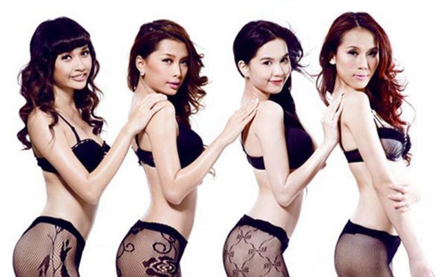 """4 người mẫu cùng thời với """"nữ hoàng nội y"""": Người làm vợ đại gia, kẻ rút khỏi showbiz"""