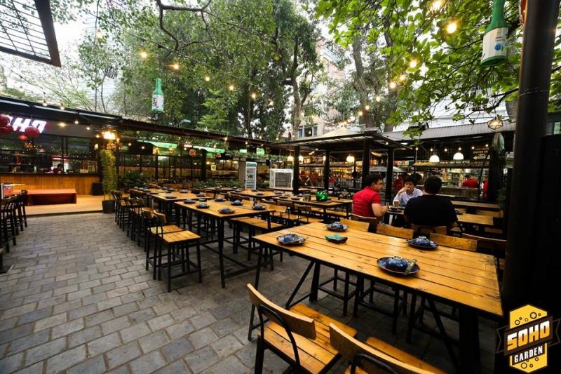 Top 10 Nhà hàng sân vườn đẹp, hút khách nhất ở Hà Nội