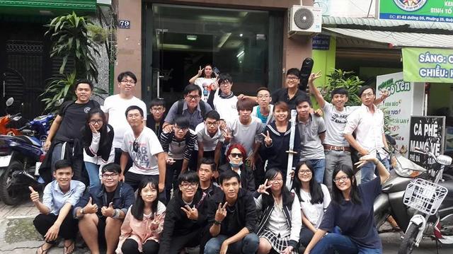 Nhóm bạn trẻ bảo vệ Cosplayer tại các lễ hội hóa trang Việt Nam